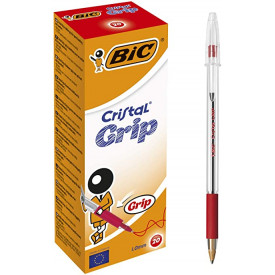 Bic Cristal Grip Rosso