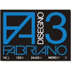 F3 Fabriano Album Nero